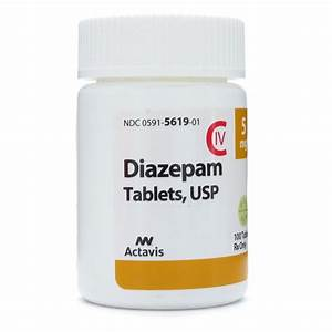 Diazepam 5mg, 10mg, 20mg [100 Tablet]