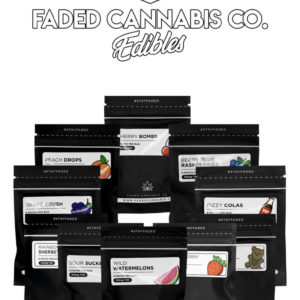 Faded Cannabis Co's edibles