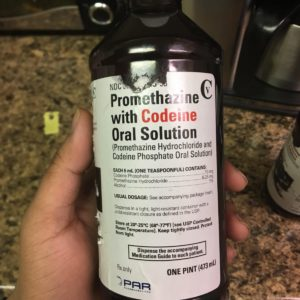 Promethazine with codeine oral solution